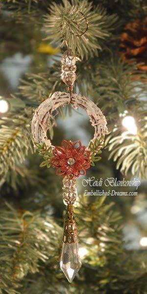 wreath ornament for butterbeescraps