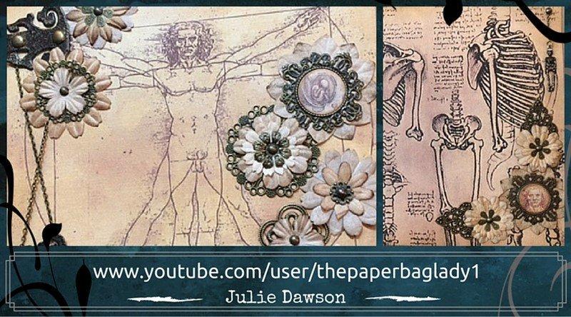 Julie Dawson Leonardo da Vinci Mini Album feature