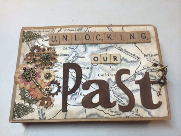 unlocking our past mini album by thepaperbaglady