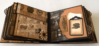 prima archivist mini album by ginger ropp