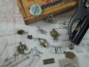 attic treasures tibetan charms by butterbeescraps