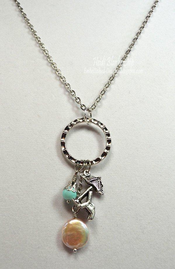 beach chair necklace for butterbeescraps