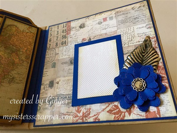 tim holtz correspondence mini album