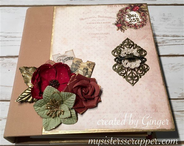 prima victorian christmas mini album