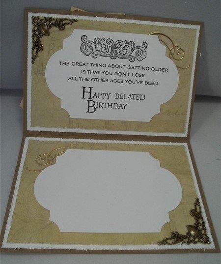 Tim Holtz Jalopy Handmade Birthday Card