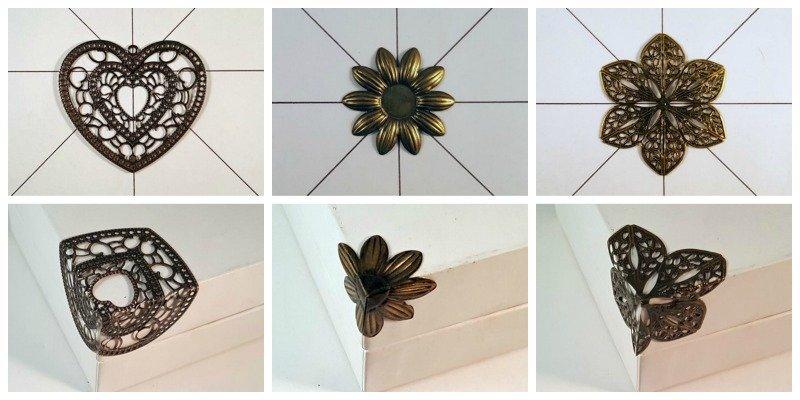 filigree box corners