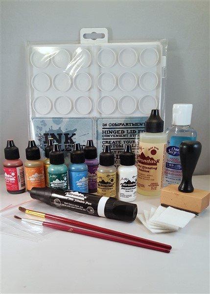 alcohol ink tutorial materials