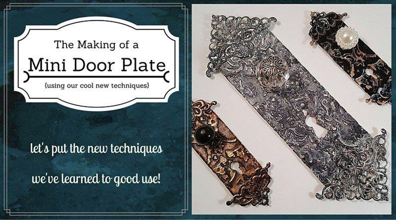 mini door plate tutorial