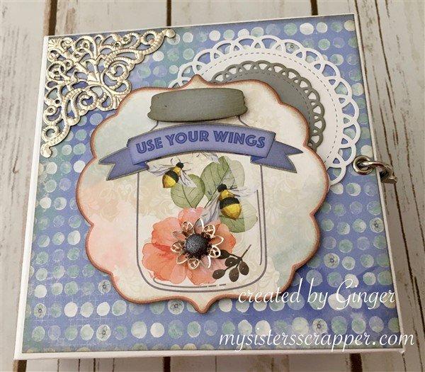 BBS Butterfly Kisses Mini Album Front