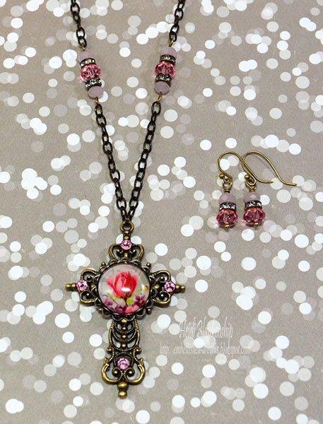 pinkroseandcrystalcross-4