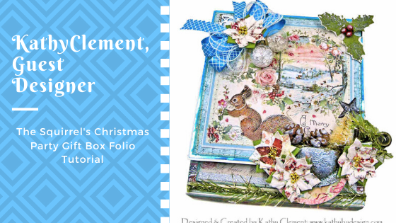 The Squirrel's Christmas Party Gift Box Folio