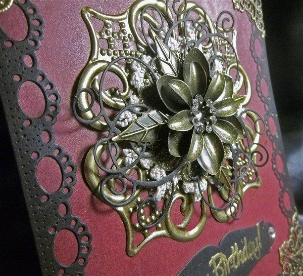 Metal Filigree Embellishment (#540)