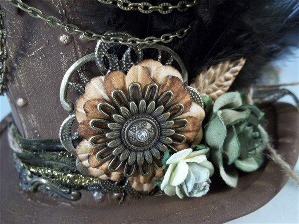 Bronze Metal Filigree Embellishment (#427-B)