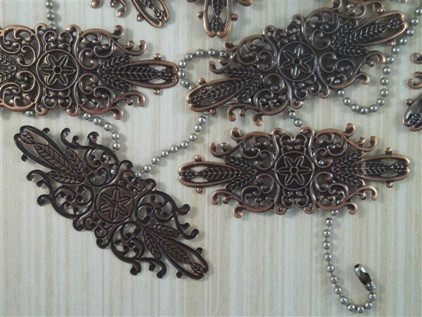 Decorative Metal Filigree Embellishment (#553)