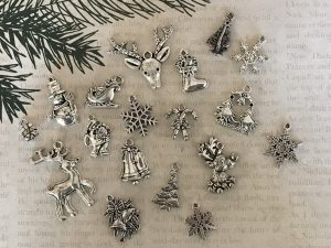Christmastime Tibetan Charm Collection