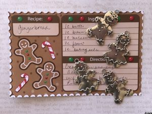 Gingerbread Folk Tibetan Charm Collection