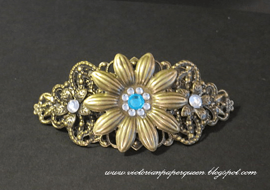 Decorative Metal Filigree Embellishment (#810)