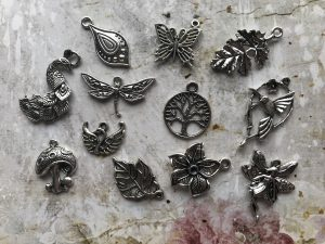 Nature's Garden Tibetan Charms Collection