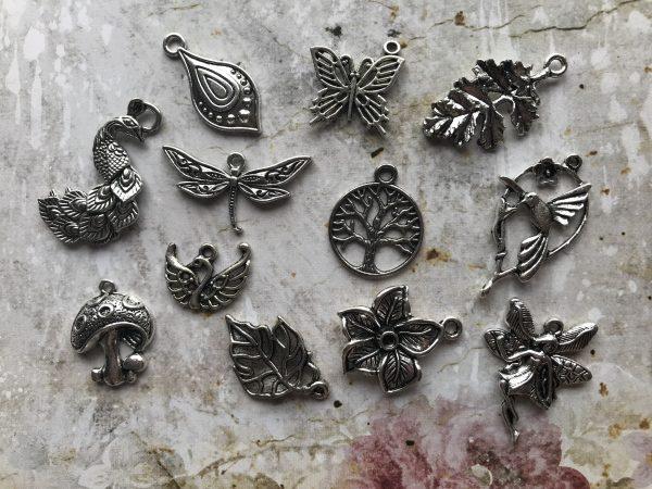 Nature's Garden Tibetan Charms Collection
