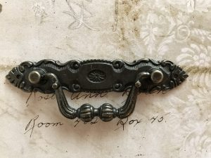 Large Antique Bronze Drawer Handle (#HD360-B)