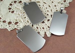 Stainless Tags (#J130-ST)