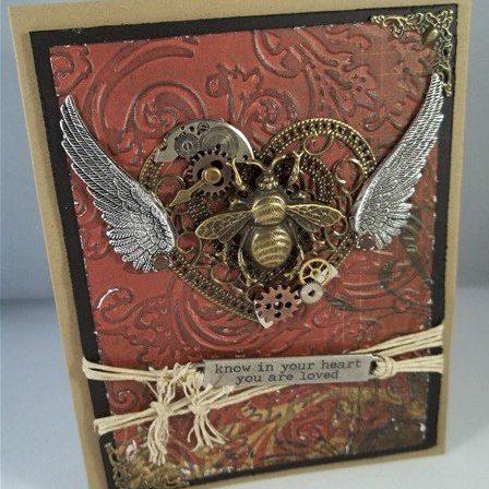 valentine day handmade card ideas by butterbeescraps